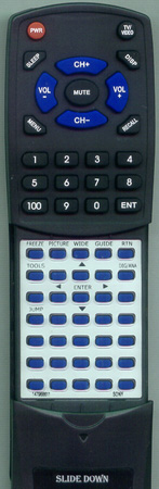 SONY 1-479-686-11 RMYD005 Custom Built Redi Remote