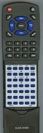 SONY 1-479-713-11 RMYD007 Custom Built Redi Remote