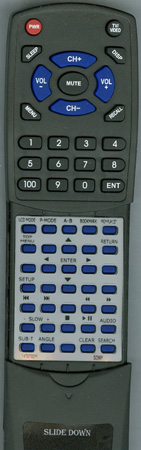 SONY 1-479-792-11 RMTDVE7000 Custom Built Redi Remote