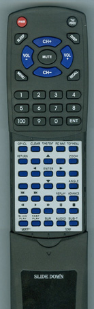 SONY 1-480-635-11 RMT-D185A Custom Built Redi Remote