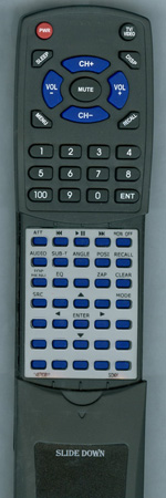 SONY 1-487-638-11 RMX170 Custom Built Redi Remote