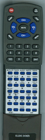 SONY 1-487-683-11 RMTB108A Custom Built Redi Remote