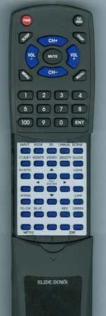 SONY 1-487-710-12 RM-YD036 Custom Built Redi Remote