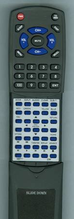 SONY 1-489-071-11 RMTD301 Custom Built Redi Remote