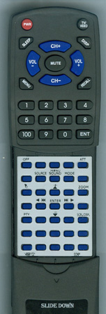 SONY 1-489-810-21 RMX211 Custom Built Redi Remote