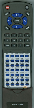 SONY 1-492-049-11 RMAAU168 Custom Built Redi Remote