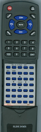 SONY 1-693-021-11 RMJ711 Custom Built Redi Remote
