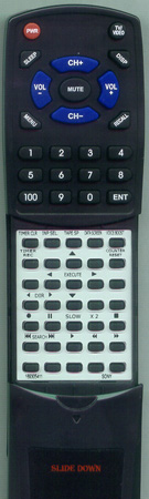 SONY 1-693-054-11 RMTV119 Custom Built Redi Remote