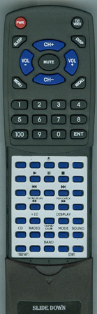 SONY 1-693-146-11 RMTC767 Custom Built Redi Remote