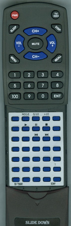 SONY 8-917-589-90 RMTCZ130 Custom Built Redi Remote