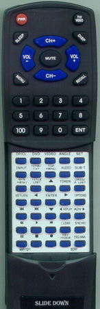 SONY 9-885-112-11 RMTD240A Custom Built Redi Remote
