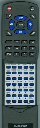 SONY 9-885-120-61 RMTD254A Custom Built Redi Remote