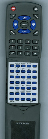 SONY 9-885-134-41 RMTCCS10IP Custom Built Redi Remote