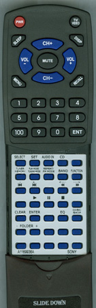 SONY A-1169-936-A RMSC55 Custom Built Redi Remote