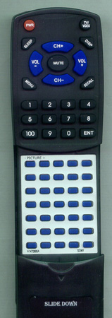 SONY A-1470-695-A RM729 Custom Built Redi Remote