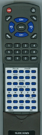 SONY A-3258-033-A RMTC200A Custom Built Redi Remote