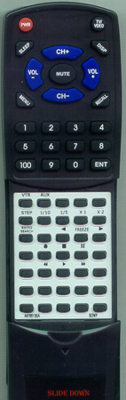 SONY A-6765-130-A RMT317 Custom Built Redi Remote
