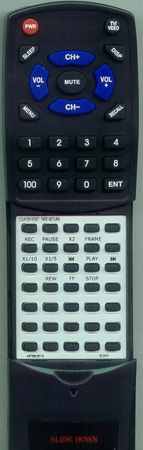 SONY A-6767-045-A RMT412 Custom Built Redi Remote
