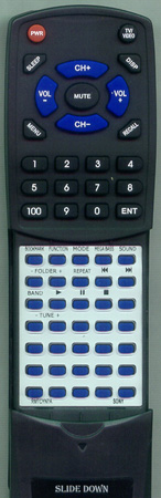 SONY A-1056-325-A RMTCYNYA Custom Built Redi Remote