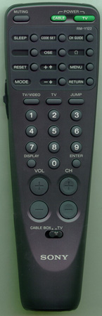 SONY 1-467-622-11 RM-Y122 Genuine  OEM original Remote