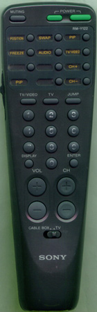 SONY 1-467-622-12 RM-Y122 Genuine  OEM original Remote