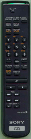 SONY 1-476-263-11 RM-SC300 Genuine OEM original Remote