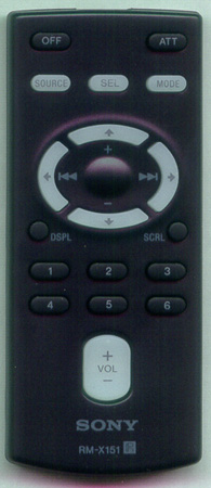 SONY 1-479-077-18 RM-X151 Genuine OEM original Remote