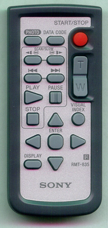 SONY 1-478-496-21 RMT-835 Genuine OEM original Remote