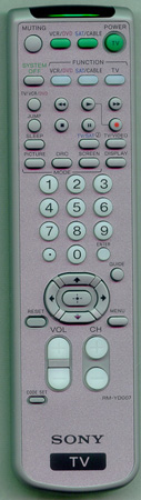SONY 1-479-713-11 RMYD007 Genuine OEM original Remote