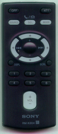 SONY 1-480-150-11 RMX304 Genuine OEM original Remote