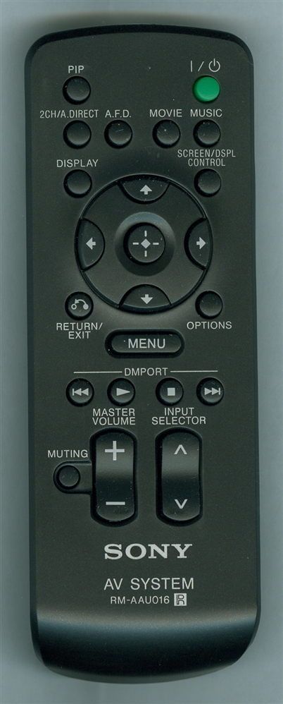SONY 1-480-205-11 RMAAU016 Refurbished Genuine OEM Original Remote