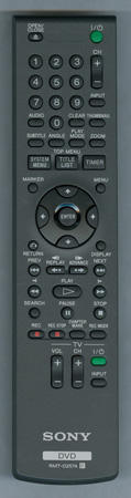 SONY 1-480-839-11 RMT-D257A Genuine OEM original Remote