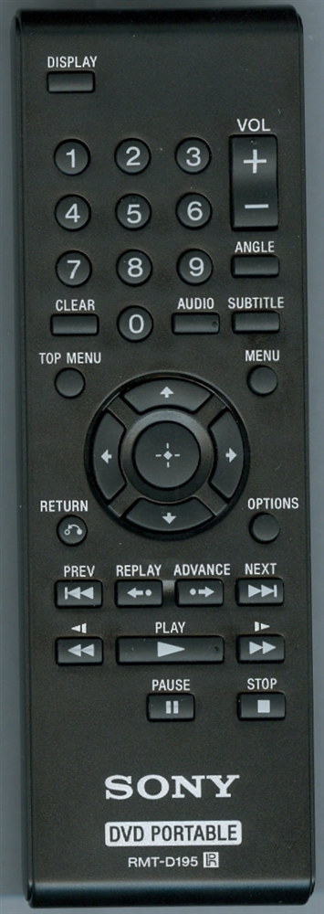 SONY 1-487-884-11 RMTD195 Refurbished Genuine OEM Original Remote