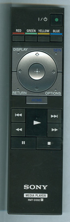 SONY 1-489-907-11 RMT-D302 Genuine OEM original Remote