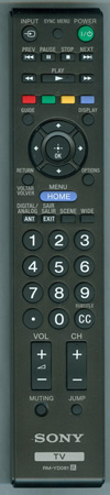 SONY 1-489-991-11 RM-YD081 Genuine OEM original Remote