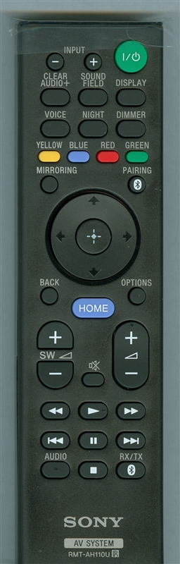 SONY 1-492-939-11 RM-TAH110U Genuine  OEM original Remote