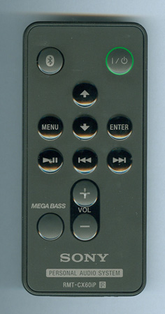 SONY 9-885-155-79 RMT-CX60IP Genuine OEM original Remote