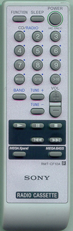 SONY A-1055-231-A RMT-CF10A Genuine  OEM original Remote