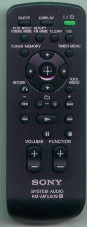 SONY A-1438-479-A RM-AMU009 Genuine OEM original Remote