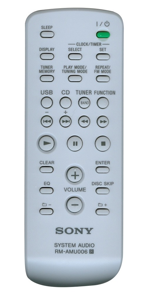 SONY 1-480-272-12 RMAMU007 Genuine OEM original Remote