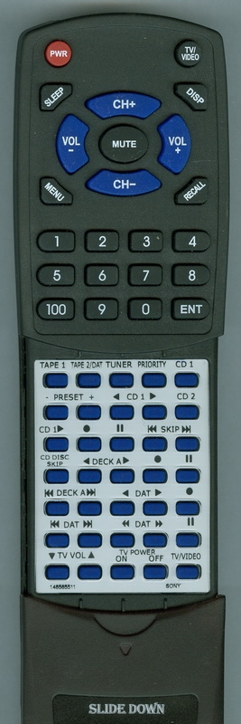 SONY 1-465-655-11 RM-P1 Custom Built Redi Remote