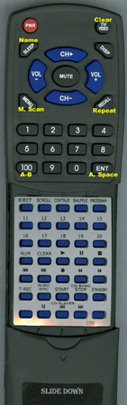 SONY 1-473-785-11 RMD7M Custom Built Redi Remote