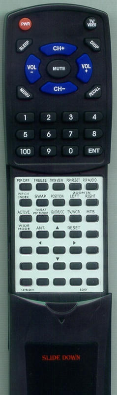 SONY 1-476-420-11 RM-Y907 Custom Built Redi Remote