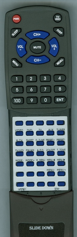 SONY 1-476-786-11 RM-U305S Custom Built  Redi Remote