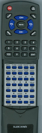 SONY 1-477-126-11 RMTD143A Custom Built Redi Remote