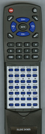 SONY 1-477-211-11 RMTD145A Custom Built Redi Remote