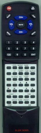 SONY 1-477-223-11 RMSGS2 Custom Built Redi Remote