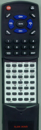 SONY 1-477-280-11 RMTV402 Custom Built Redi Remote