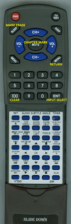 SONY 1-477-804-31 RMT-D203A Custom Built Redi Remote