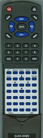 SONY 1-479-077-31 Custom Built Redi Remote